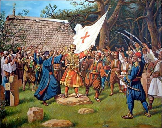 drugi srpski ustanak slika